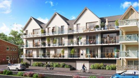 Appartements neufs Les Amarres investissement loi Pinel à Cucq
