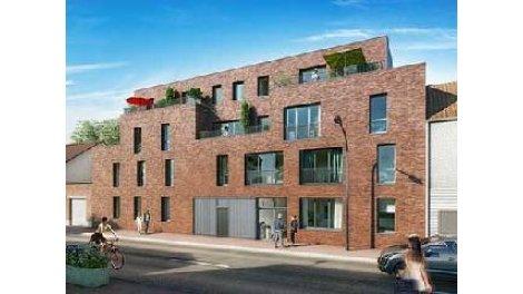 Appartements et maisons neuves Les Jardins bo'Tanic investissement loi Pinel à Lomme