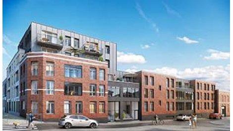 Appartement neuf Ô Barbieux éco-habitat à Roubaix