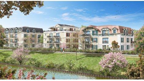 Appartement neuf Le Clos du Canal investissement loi Pinel à Chelles