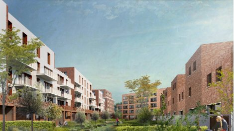 Appartement neuf Parenthese Verte éco-habitat à Lille
