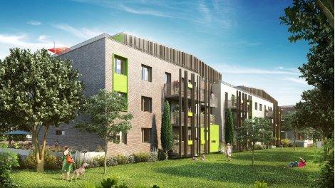 Appartement neuf Le Carre des Vignes éco-habitat à Amiens