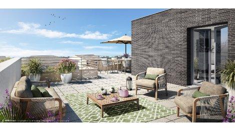 Appartement neuf Le Clos des Champs éco-habitat à Champs-sur-Marne