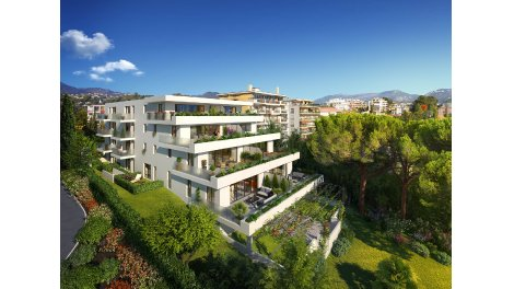 Appartement neuf Cap Elegance éco-habitat à Nice