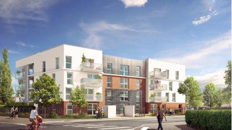 Appartements neufs Les Jardins Saint Venant investissement loi Pinel à Ronchin
