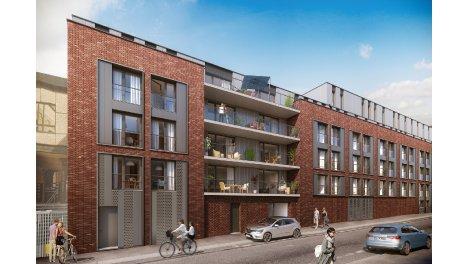 Appartements neufs Le Cid investissement loi Pinel à Roubaix