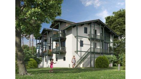 Appartement neuf Residence du Lac éco-habitat à Hossegor