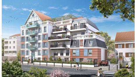 Appartement neuf Résidence du Gue du Coudray éco-habitat à Le Blanc Mesnil