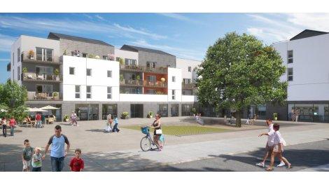 Appartement neuf Square Magnolia investissement loi Pinel à Avrillé