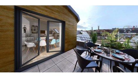 Appartement neuf Diapason investissement loi Pinel à Rouen