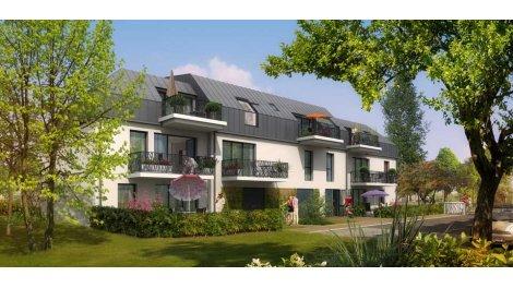 Appartement neuf Les Jardins de Saint Ouen éco-habitat à Caen