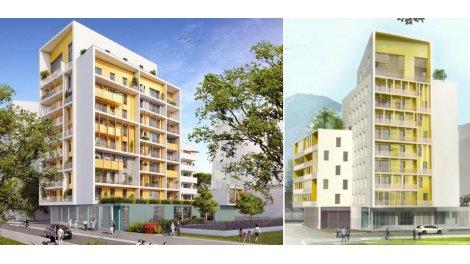 Appartement neuf Philaé éco-habitat à Grenoble