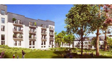 Appartement neuf Les Jardins d'Augustin investissement loi Pinel à Nantes