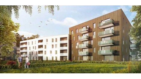 Appartement neuf Les Domaines de l'Alérion Bat b éco-habitat à Maxéville