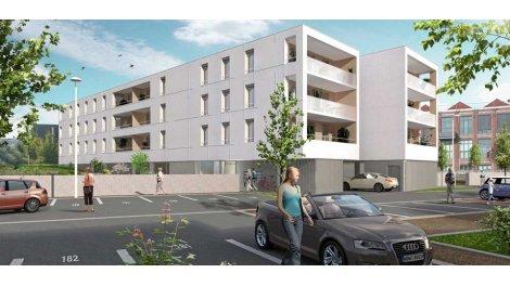 Appartement neuf Villa Blanche investissement loi Pinel à Roubaix