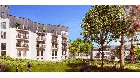 Appartement neuf Les Jardins d'Augustin éco-habitat à Nantes