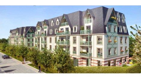 Appartement neuf Residence des Arts éco-habitat à Deauville