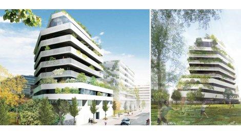 Appartement neuf Mithra éco-habitat à Montpellier