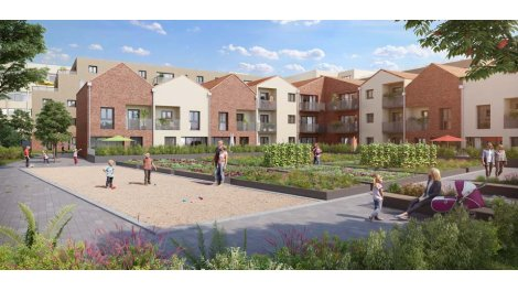 Appartements et maisons neuves Les Jardins Montfleury à Sarcelles