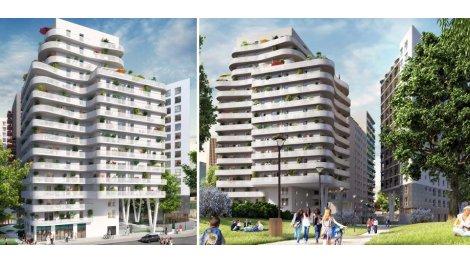 Appartement neuf Line investissement loi Pinel à Bagnolet