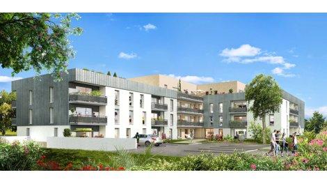Appartements neufs Résidence Blaise Pascal investissement loi Pinel à Angers