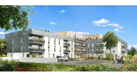 Appartement neuf Résidence Blaise Pascal investissement loi Pinel à Angers