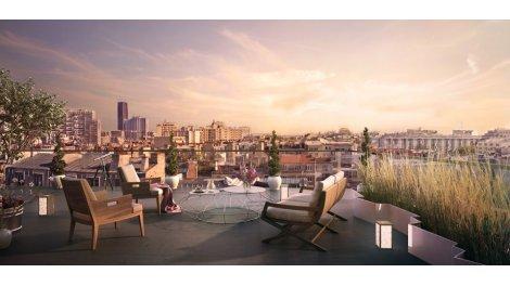 Appartement neuf L'Imprimerie investissement loi Pinel à Paris 14ème