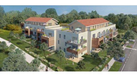 Appartement neuf Les Jardins d'Acanthe éco-habitat à Parempuyre
