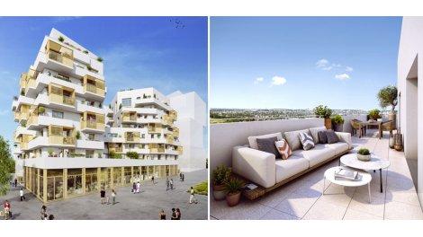Appartement neuf Les Terrasses Magellan investissement loi Pinel à Noisy-le-Grand