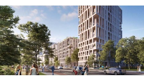 Appartement neuf Innlove 2 investissement loi Pinel à Bordeaux