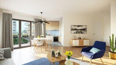 Appartement neuf 1 rue de Craïova à Nanterre