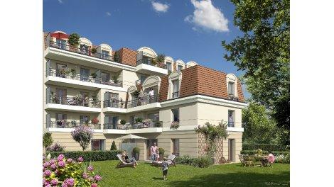 Appartement neuf Villa Fontaine investissement loi Pinel à Sartrouville