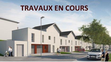 Appartement neuf Jardin de Lys investissement loi Pinel à Besançon