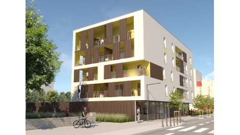 Appartement neuf Les Terrasses du 7ème Art investissement loi Pinel à Macon