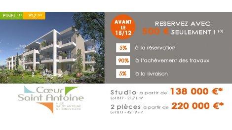 Appartement neuf Coeur Saint Antoine investissement loi Pinel à Nice