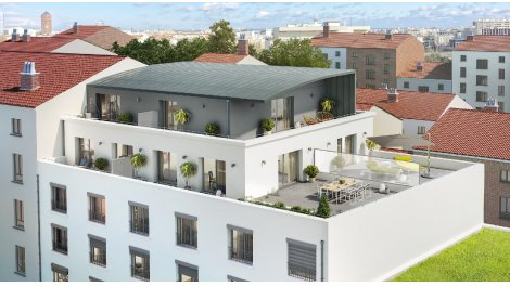 Appartement neuf Comme Une Renaissance investissement loi Pinel à Lyon 7ème