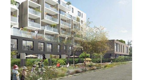 Appartement neuf La Résidence Belles Lettres investissement loi Pinel à Strasbourg