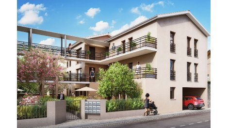 Appartement neuf La Villa du Moulin investissement loi Pinel à Vénissieux