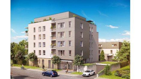 Appartement neuf La Villa du Verderet investissement loi Pinel à Grenoble