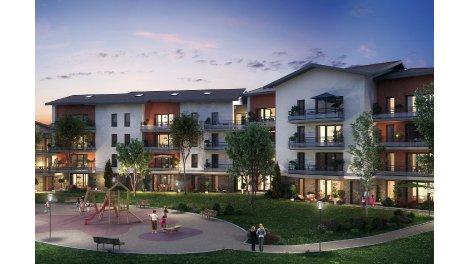 Appartement neuf Le Clos de la Bergerie investissement loi Pinel à Cessy