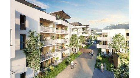 Appartement neuf Le Domaine de Champaviotte investissement loi Pinel à Saint-Egrève