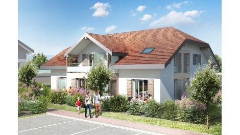 Appartements et maisons neuves Le Domaine des Hutins investissement loi Pinel à Cranves-Sales