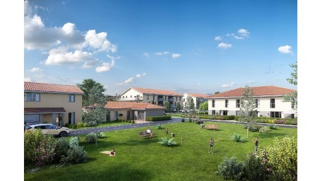 Appartements et maisons neuves Le Domaine des Poiriers à Villette-de-Vienne