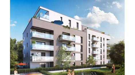 Appartement neuf Le Domaine des Rois investissement loi Pinel à Saint-Louis