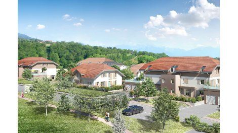 Appartements et maisons neuves Le Hameau des Hutins à Cranves-Sales