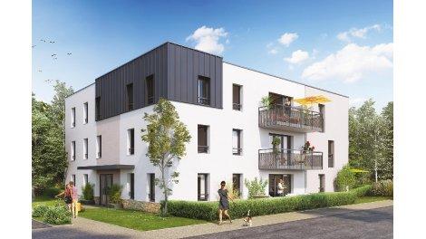 Appartements neufs Les Résidentiales de Guindreff investissement loi Pinel à Saint-Nazaire
