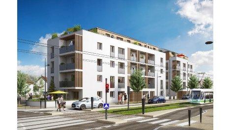 Appartements neufs Les Terrasses de Vincennes investissement loi Pinel à Orvault