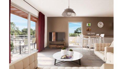 Appartement neuf Les Terrasses du Pilat investissement loi Pinel à Chasse-sur-Rhône