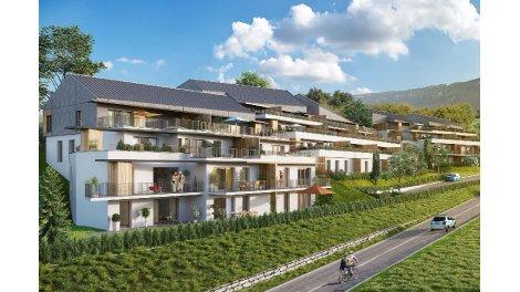 Appartement neuf Les Terrasses Pacôts investissement loi Pinel à Aix-les-Bains