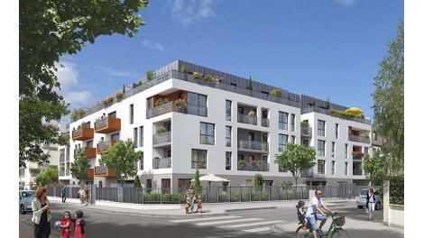 Appartement neuf Les Villas du Vert Galant investissement loi Pinel à Villepinte